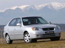 Hyundai Accent рестайлинг, 2 поколение, 04.2003 - 03.2006, Хэтчбек 5 дв.