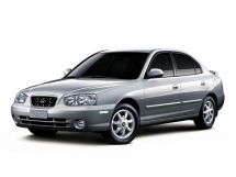 Hyundai Avante 2 поколение, 04.2000 - 05.2003, Седан