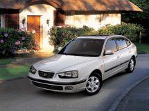 Hyundai Avante 2 поколение, 04.2000 - 05.2003, Лифтбек