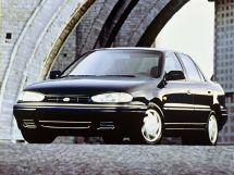 Hyundai Lantra рестайлинг 1993, седан, 1 поколение, J1