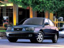 Hyundai Elantra 2000, седан, 3 поколение, XD