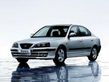 Hyundai Elantra рестайлинг 2003, седан, 3 поколение, XD2