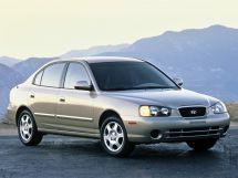 Hyundai Elantra 3 поколение, 02.2000 - 08.2003, Седан