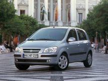 Hyundai Getz 1 поколение, 09.2002 - 09.2005, Хэтчбек 5 дв.