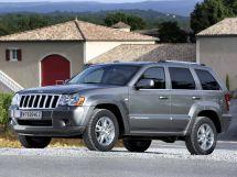 Jeep Grand Cherokee рестайлинг 2007, джип/suv 5 дв., 3 поколение, WH