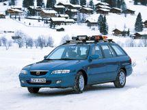 Mazda 626 рестайлинг 1999, универсал, 6 поколение, GW
