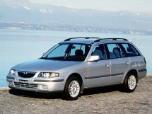 Mazda 626 1997, универсал, 6 поколение, GW