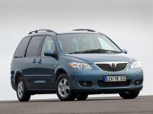 Mazda MPV рестайлинг 2002, минивэн, 2 поколение, LW