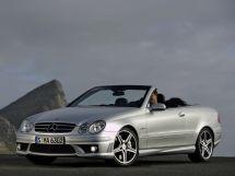 Mercedes-Benz CLK-Class рестайлинг 2005, открытый кузов, 2 поколение, A209