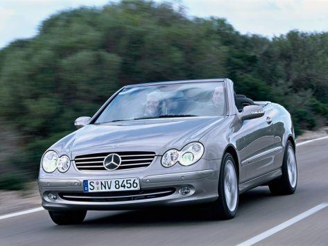 Mercedes-Benz CLK-Class (A209) 03.2003 - 04.2005