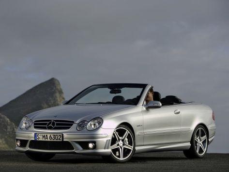 Mercedes-Benz CLK-Class (A209) 05.2005 - 02.2009