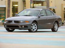 Mitsubishi Galant рестайлинг, 8 поколение, 06.2001 - 05.2003, Седан