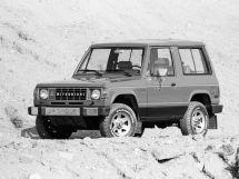 Mitsubishi Montero 1982, джип/suv 3 дв., 1 поколение