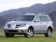 Mitsubishi Outlander 2002, джип/suv 5 дв., 1 поколение, CU0W