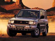 Mitsubishi Pajero рестайлинг 1997, suv, 2 поколение, V20