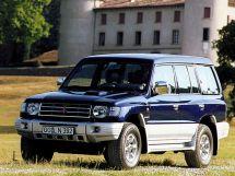 Mitsubishi Pajero рестайлинг 1997, suv, 2 поколение, V30/V40