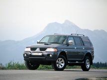 Mitsubishi Pajero Sport рестайлинг 2004, suv, 1 поколение
