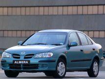 Nissan Almera 2000, седан, 2 поколение, N16
