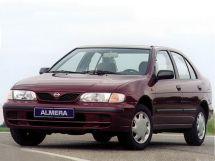 Nissan Almera 1995, седан, 1 поколение, N15