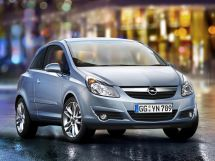 Opel Corsa 4 поколение, 05.2006 - 10.2010, Хэтчбек 3 дв.