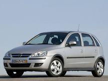 Opel Corsa рестайлинг, 3 поколение, 08.2003 - 10.2006, Хэтчбек 5 дв.