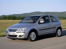 Opel Corsa рестайлинг, 3 поколение, 08.2003 - 06.2006, Хэтчбек 3 дв.