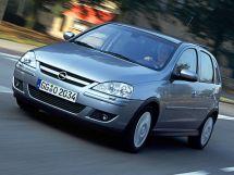 Opel Corsa рестайлинг, 3 поколение, 08.2003 - 06.2006, Хэтчбек 5 дв.