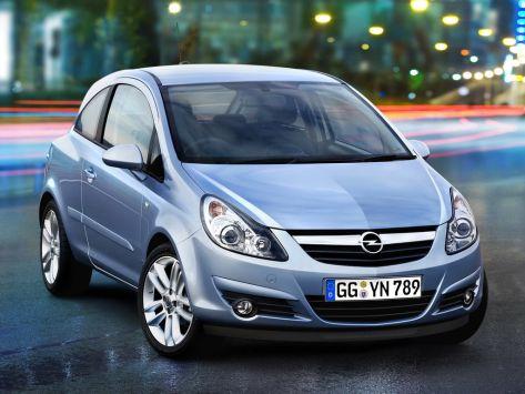 Opel Corsa (D) 05.2006 - 10.2010