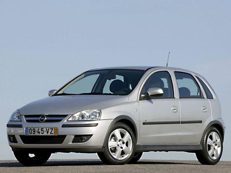 Opel Corsa (C) 08.2003 - 10.2006