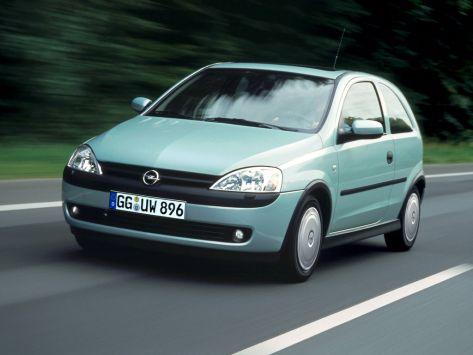 Opel Corsa (C) 10.2000 - 07.2003
