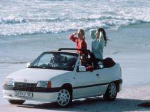 Opel Kadett 1987, открытый кузов, 6 поколение, E