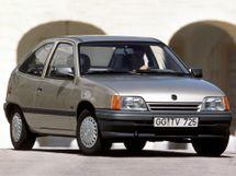 Opel Kadett рестайлинг 1989, хэтчбек 3 дв., 6 поколение, E