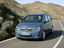 Opel Meriva рестайлинг, 1 поколение, 11.2005 - 11.2009, Минивэн