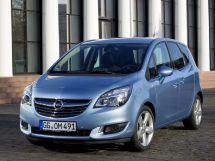 Opel Meriva рестайлинг, 2 поколение, 01.2014 - 06.2017, Минивэн
