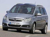 Opel Zafira 2005, минивэн, 2 поколение, B