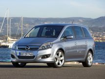 Opel Zafira рестайлинг 2007, минивэн, 2 поколение, B