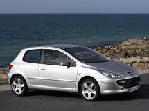 Peugeot 307 рестайлинг 2005, хэтчбек 3 дв., 1 поколение