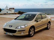 Peugeot 407 2004, седан, 1 поколение