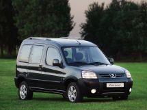 Peugeot Partner Tepee рестайлинг 2002, минивэн, 1 поколение