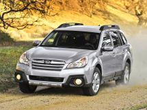 Subaru Outback рестайлинг 2012, универсал, 4 поколение, BR