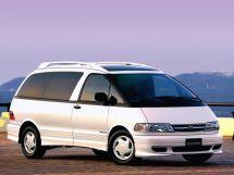Toyota Estima рестайлинг 1998, минивэн, 1 поколение, XR10, XR20