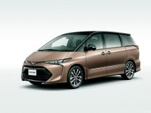 Toyota Estima 3-й рестайлинг 2016, минивэн, 3 поколение