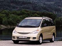 Toyota Previa 2000, минивэн, 2 поколение, XR30