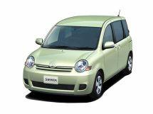 Toyota Sienta рестайлинг, 1 поколение, 05.2006 - 06.2015, Минивэн