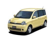 Toyota Sienta 1 поколение, 09.2003 - 04.2006, Минивэн