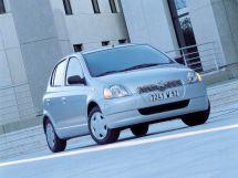 Toyota Yaris 1999, хэтчбек 5 дв., 1 поколение, XP10