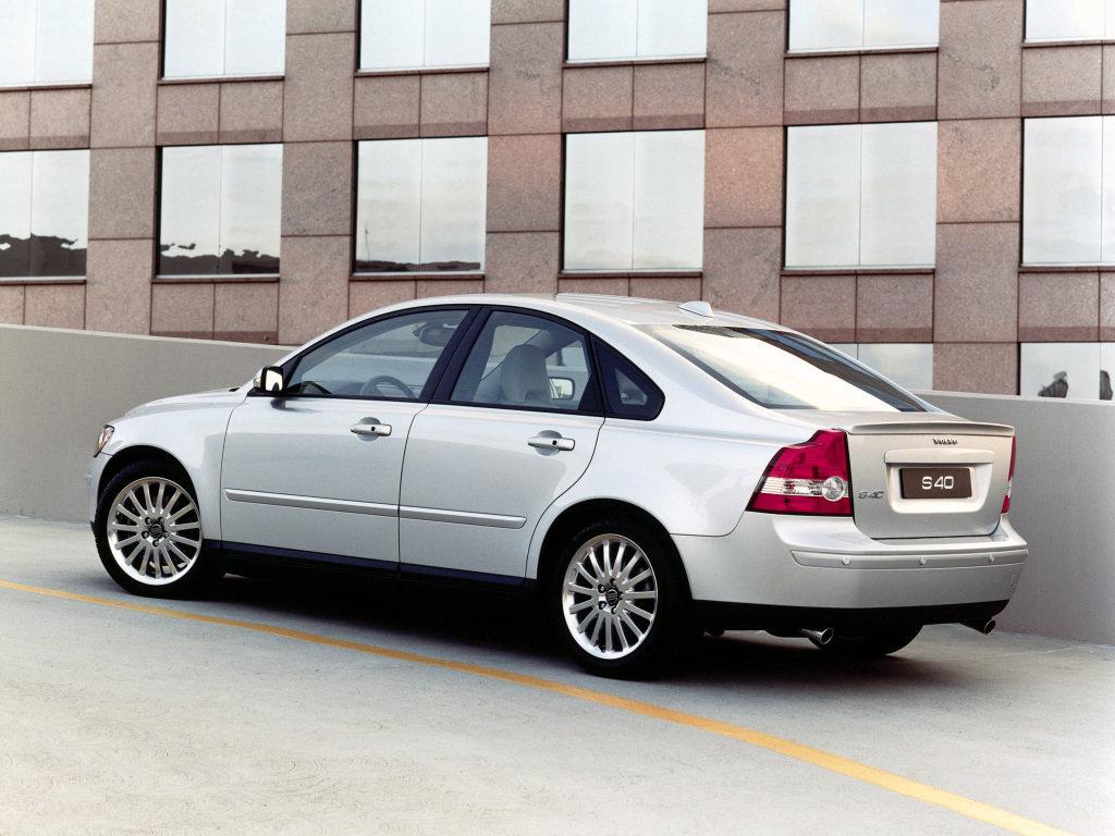 volvo s40 2 поколение