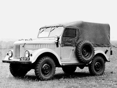 ГАЗ 69 1956 - 1972