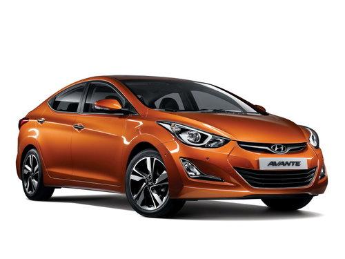 Hyundai Avante 2013 - 2015