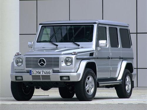 Mercedes-Benz G-Class 2002 - 2006